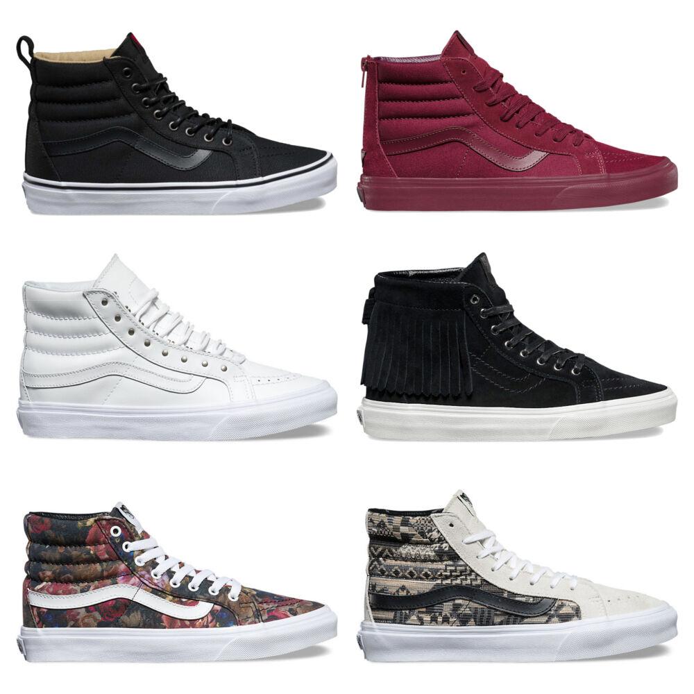 VANS shoes SHOES New  SK8 HI  Originali NUOVE men women SNEAKER Varie 6 Col