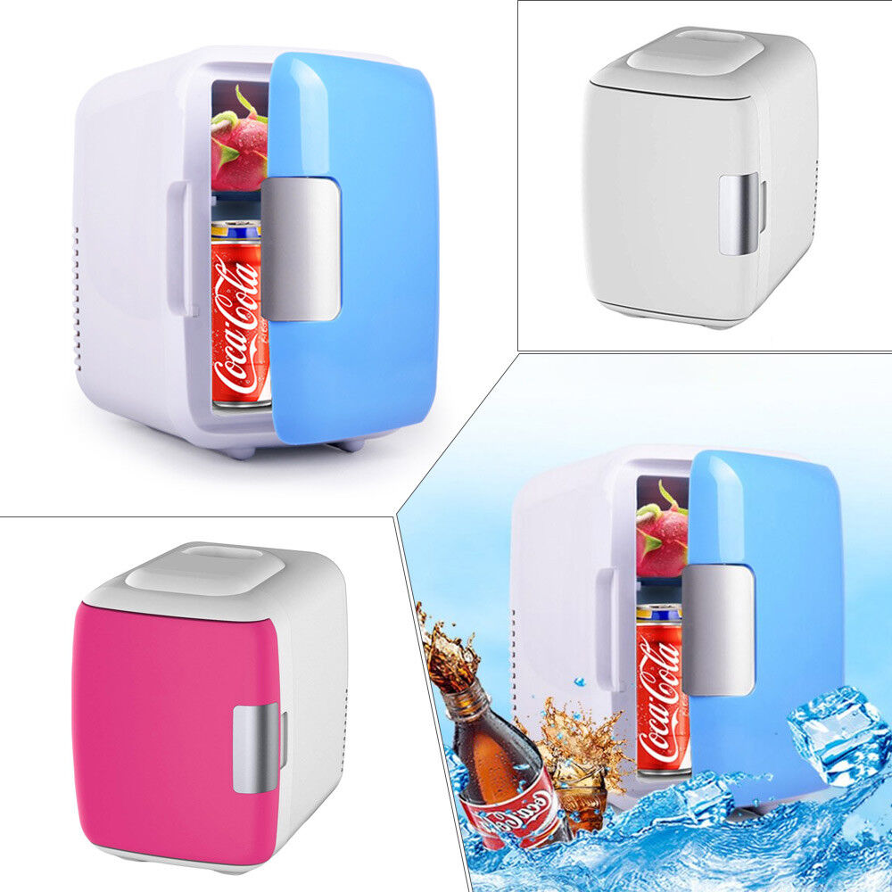 4L Portable Electric Car Freezer Fridge Cooler Warmer Car Refrigerator Travel