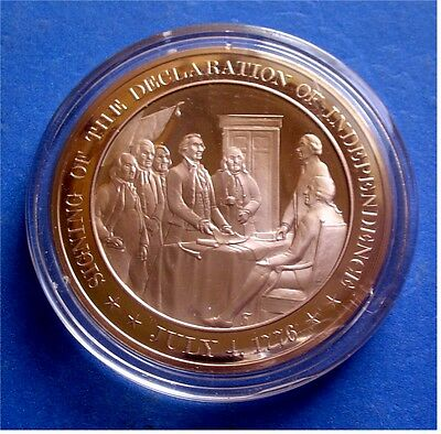 Franklin Mint SOLID BRONZE Medal Uncirculated 1880 Original FARM AID Medal
