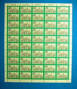 Bund-50er-Bogen-MiNr-704-postfrisch-MNH-Formnummer-4-BW2366