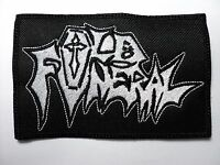 Old Funeral Embroidered Patch