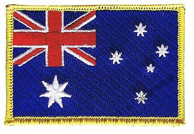 Australien Aufnäher Flaggen Fahnen Patch Aufbügler 8x6cm