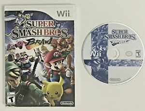 Super-Smash-Bros-Brawl-Nintendo-Wii-2008-Wii-Video-Game-TESTED-Fast-Shipping