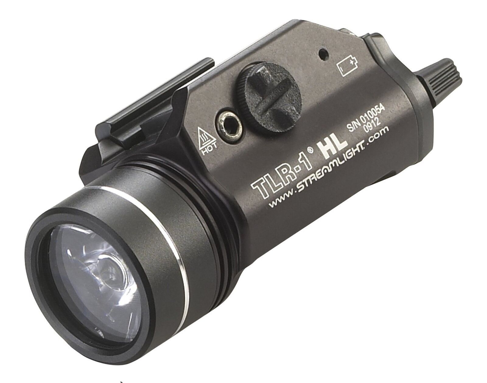 Streamlight 69260 TLR-1 HL Weapon Mount Tactical Flashlight Light 800 Lumens ...