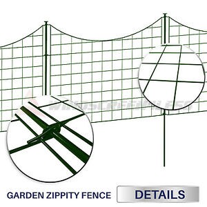 25x27 5 Expandable Zippity Garden Fence Kit Landscaping