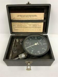 MOTROLA-JONES-1HT-Portable-Motor-Tachometer-Gage-Meter-1000-100-000-RPM-USA