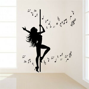Wall Stickers Home & Garden 2019 Fashion Custom Name Wall Decal Girls Bedroom Decor Dancer Dancing Ballet Wall Sticker Free Shipping Modern And Elegant In Fashion