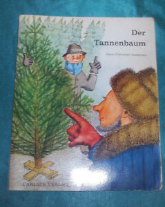 Der-Tannenbaum-Hans-Christian-Andersen-Kinderbuch-Leseheft-Carlsen-Verlag-1972