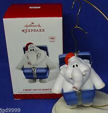 Hallmark Magic Ornament I Want You to Want Me 2014 Cheap Trick Sound Elephant
