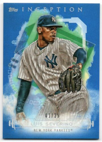 2019 Topps Inception Blue Parallel //25 Pick Any Complete Your Set