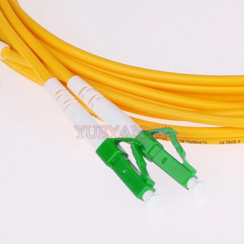 3M LC APC-LC APC Duplex Optical Fiber Cable Patch Cord LC to LC SingleMode
