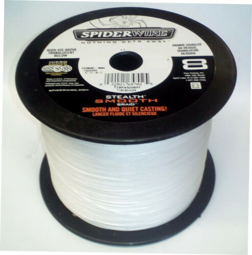 Spiderwire Stealth Smooth 8 Braid 3000m 44lb-108lb Green//Red//YellowTranslucent