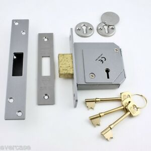 Union-Locks-3G114E-SC-80-5-Lever-Mortice-Deadlock-C-Series-80mm