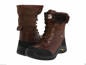 a06a7055323 Details about NEW WOMEN UGG AUSTRALIA BOOT ADIRONDACK II OBSIDIAN BROWN  WATERPROOF 5446 ORG