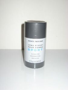 f2a31782f0df Issey Miyake L EAU D ISSEY SPORT Pour Homme Deodorant Stick Alcohol ...