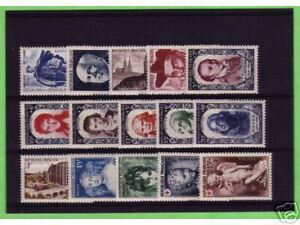 TIMBRES-FRANCE-NEUFS-ANNEE-COMPLETE-LUXE-1950