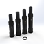 "Leonardi Lefty 1.0//2.0//SuperMax Steer Tube Replacement for 1 1//8/"" Stems 134mm"