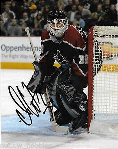 Vancouver-Canucks-Dan-Cloutier-Autographed-Signed-8x10-NHL-Photo-COA-B