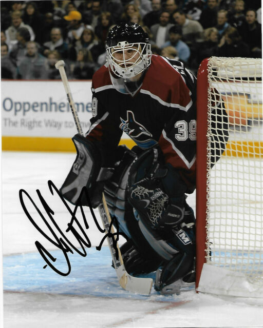 Vancouver Canucks Dan Cloutier Autographed Signed 8x10 NHL Photo COA B