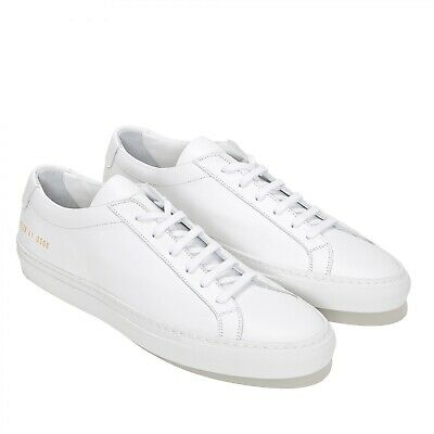 WHITE LEATHER SNEAKERS 40