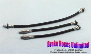 BRAKE-HOSE-SET-Chevrolet-Truck-C10-1-2-Ton-1968-Coil-Springs