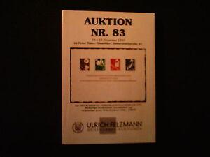 ULRICH FELZMANN BRIEFMARKEN-AUKTIONEN NR.83 vom 10-12 DEZEMBER 1997 - Duisburg, Deutschland - ULRICH FELZMANN BRIEFMARKEN-AUKTIONEN NR.83 vom 10-12 DEZEMBER 1997 - Duisburg, Deutschland
