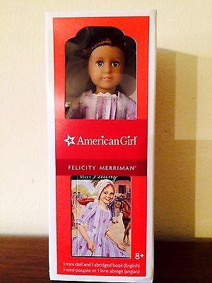 American Girl Felicity Mini Doll /& Book NIB 6 inch  Merriman Retired