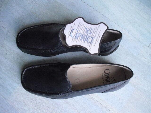 Caprice zapatos señora zapato zapato zapato bajo mocasines Ocean Nappa talla 36-talla 3,5 azul  nuevo   ordenar ahora