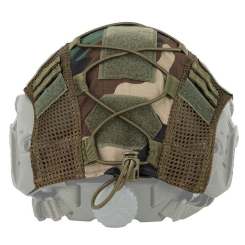 New Tactical Helmet Cover for FAST Helmet Camo Hunting Airsoft Headwear Hat Gear
