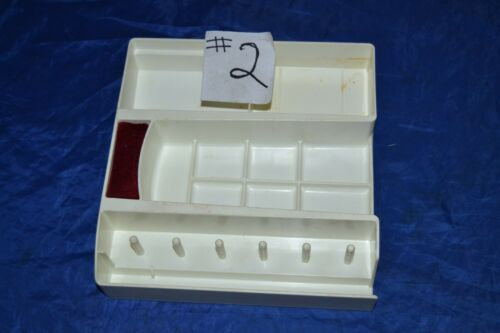 ATTACHMENT BOX FOR VIKING FREE-ARM SEWING MACHINES ATTACHMENTS GOOD CONDITION