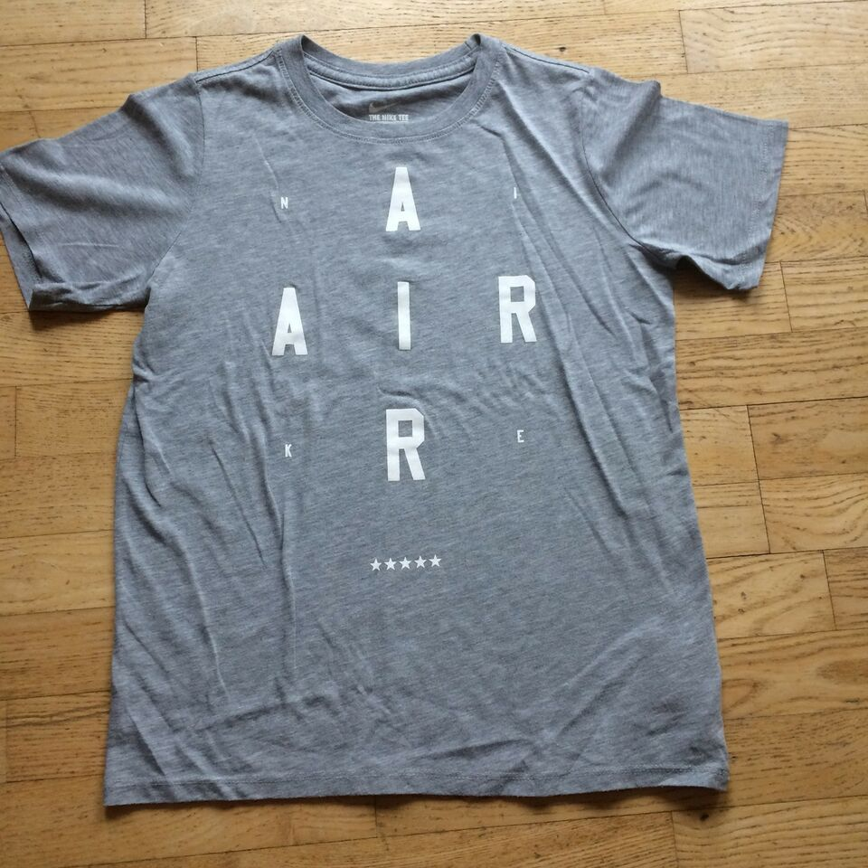 T-shirt, Gråmeleret med print, Nike