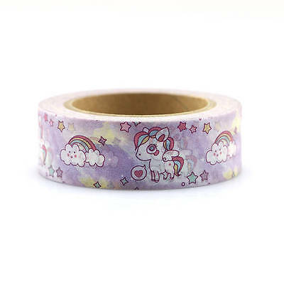 Premium Washi Tape Rolls Decorative Sticky Paper Masking Adhesive Planner Tape