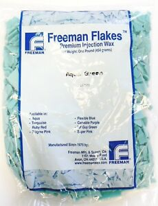 Lost Wax Injection Waxes Aqua Green Freeman Flake Wax Jewelry Making Casting 1lb 28841194450 Ebay