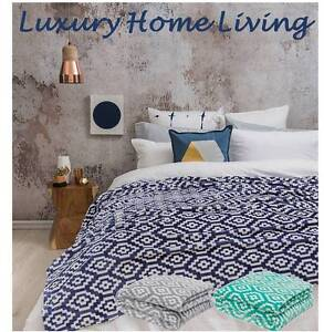 King-or-Queen-Blanket-Bambury-Chelsea-Geometric-Soft-Ultraplush-Bed-Throw