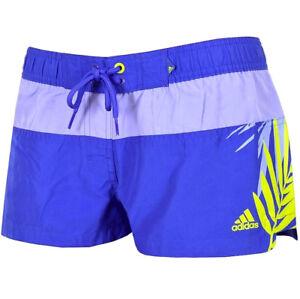 Shorts & Radlerhosen adidas swimwear Badeshort Damen kurze Hose lila blau 36 NEU