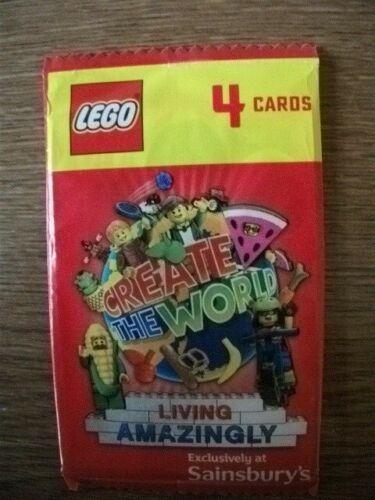 200 CARDS . 2020 LEGO CARDS 50 PACKS UNOPENED