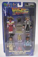 Minimates Back to the Future 1955 Return to Hill Valley Box Set Minifigs NEW NIP