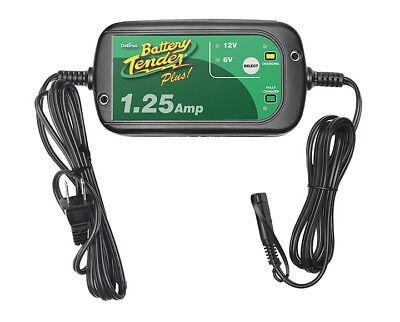 Aspirante Battery Tender 0220211dlwh Plus Selectable Battery Charger, 6v/12v, 1.25a