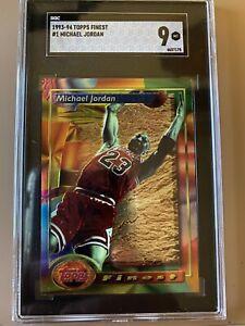 1993 Topps Finest #1 Michael Jordan - PSA SGC 9 🔥🔥🔥🔥🔥🔥🔥