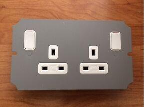 Mk Ackermann Cablelink Plus Floor Box Module Underfloor 2g