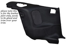 BLACK STITCH 2X REAR DOOR CARDS LEATHER COVERS FITS MITSUBISHI GTO 3000GT 92-99