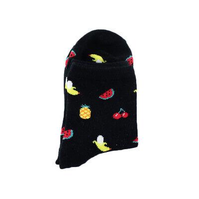 Food Fruit Funny Socks Women Sushi/Bird/Art Oil Painting Chaussette Art Socks