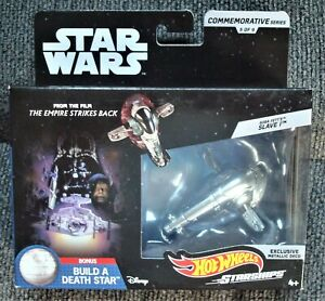Hot-Wheels-Star-Wars-Commemorative-Series-Boba-Fett-039-s-Slave-1-Sealed