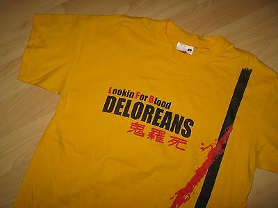 Deloreans Lookin For Blood Tee - Italy Italian Punk Rock Concert Music T Shirt S