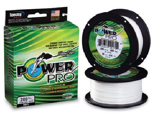Power Pro Spectra Braid White, 150 lb 300 yards, NEW