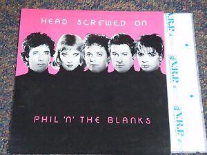Details about PHIL 'N' THE BLANKS Vinyl Import HEAD SCREWED ON - Mini LP 6  Songs
