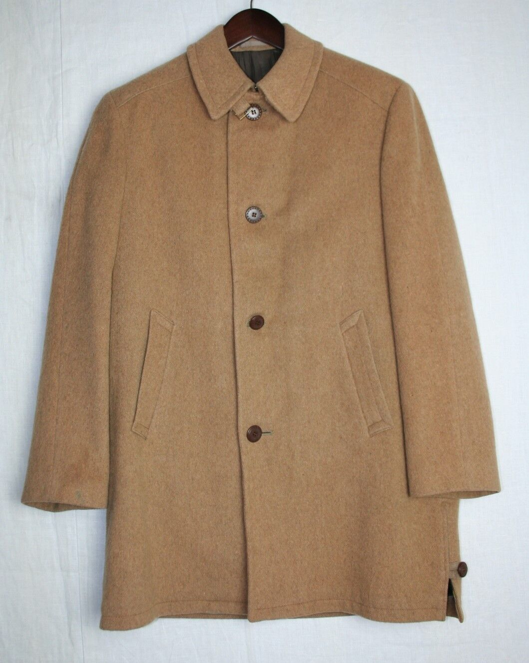 LODEN KING LODENCOAT Wool Your friend in Storm Rain & Snow Water Repellent Sz 38