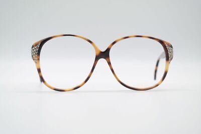 Ambizioso Vintage Raffaello Opera 6 56[]13 140 Braun Rund Brille Eyeglasses Nos Una Gamma Completa Di Specifiche