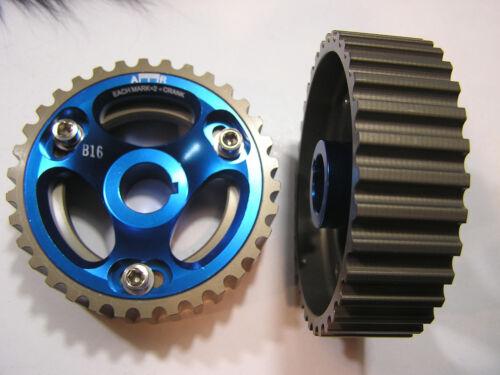 Cam Gears Gear Set 90-01 Integra 92-96 Prelude DOHC B16 B17 B18 B20 H23A1