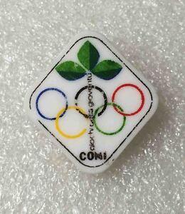 olympic pin NOC ITALY 1970 Generic ITALIA 1970 plastic old rare